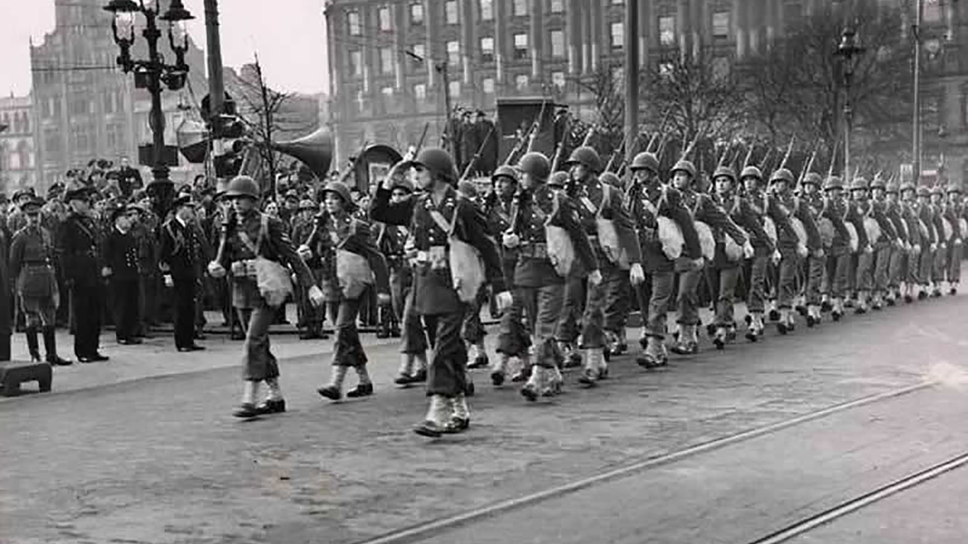 US Army in Belfast, Co. Antrim