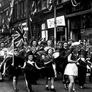 VE Day in Belfast, Co. Antrim