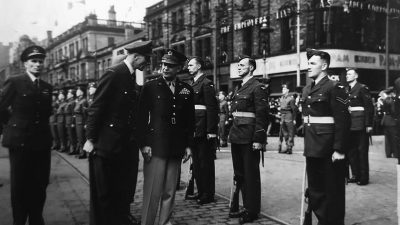 Featured image for General Eisenhower receives the Freedom of Belfast and a Doctorate from Queen's University