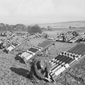 Chemical Warfare demonstration in Co. Antrim