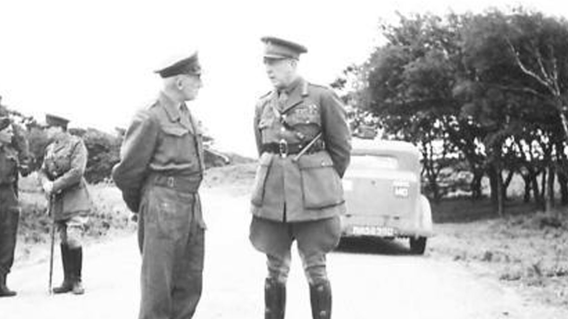 Ulster Home Guard Inspection in 1943