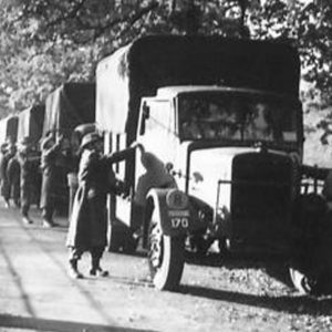 Ulster Home Guard Vehicle Checkpoint