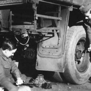 Ulster Home Guard Vehicle Repairs