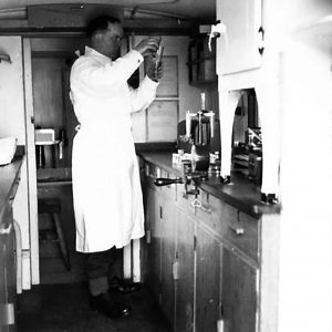 No. 4 Mobile Bacteriological Laboratory in Holywood