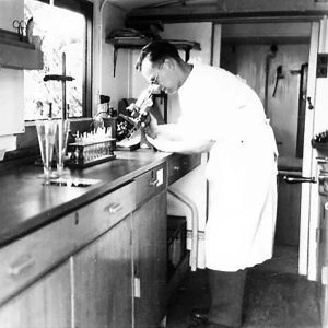 No. 4 Mobile Bacteriological Laboratory in Co. Down