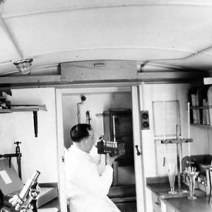 No. 4 Mobile Bacteriological Laboratory in Northern Ireland