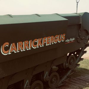Carrickfergus Tank of the North Irish Horse