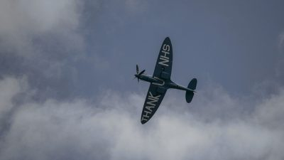 "Featured image for Where you can see the ""N.H.S. Spitfire"" over Northern Ireland"