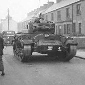 Cows and Tanks in Co. Antrim