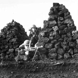 Sniper Training in the Co. Armagh Peat Stacks