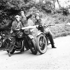A.T.S. Dispatch Riders at Drum House