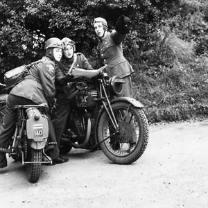 A.T.S. Dispatch Riders at Drumbeg