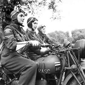 A.T.S. Dispatch Riders in Ulster