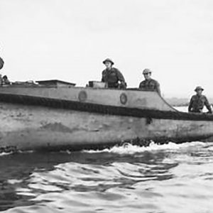 Ulster Home Guard Motor Boat Patrol on Duty