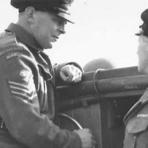 An Ulster Home Guard Helmsman and his Second