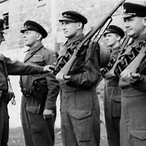 Ulster Home Guard Inspection