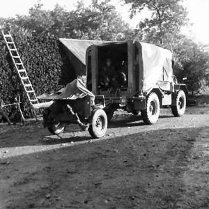 Anti-Tank Battery Training at Lislap, Co. Tyrone