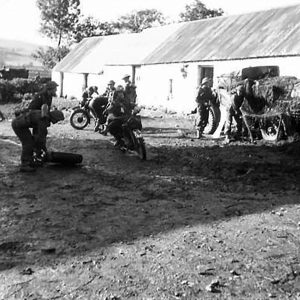 Anti-Tank Battery Training near Gortin, Co. Tyrone