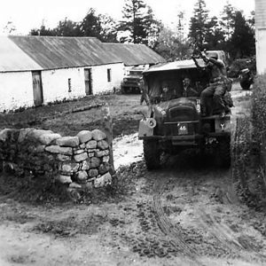 208th Anti-Tank Battery at Lislap, Co. Tyrone