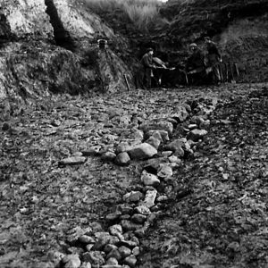 Royal Engineers build a Mountain Road