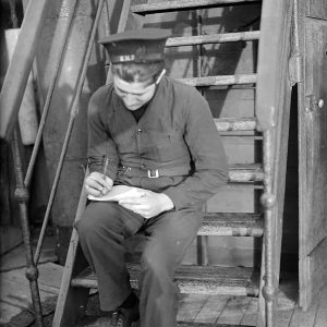 Christmas Mail on H.M.S. Dunluce Castle