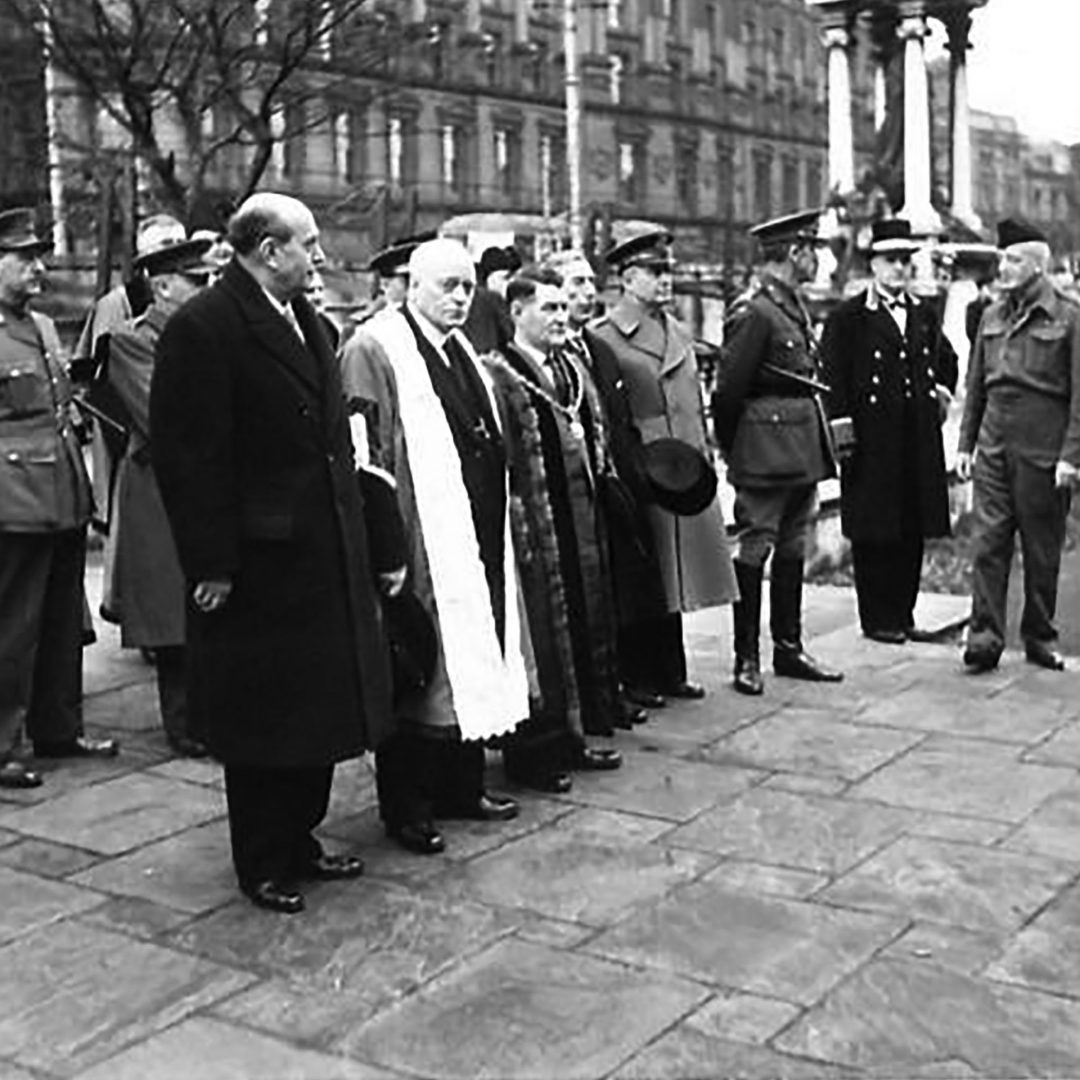 Czechoslovakian visitors to Northern Ireland