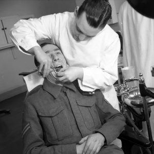 A British Army Dental Surgery in Belfast