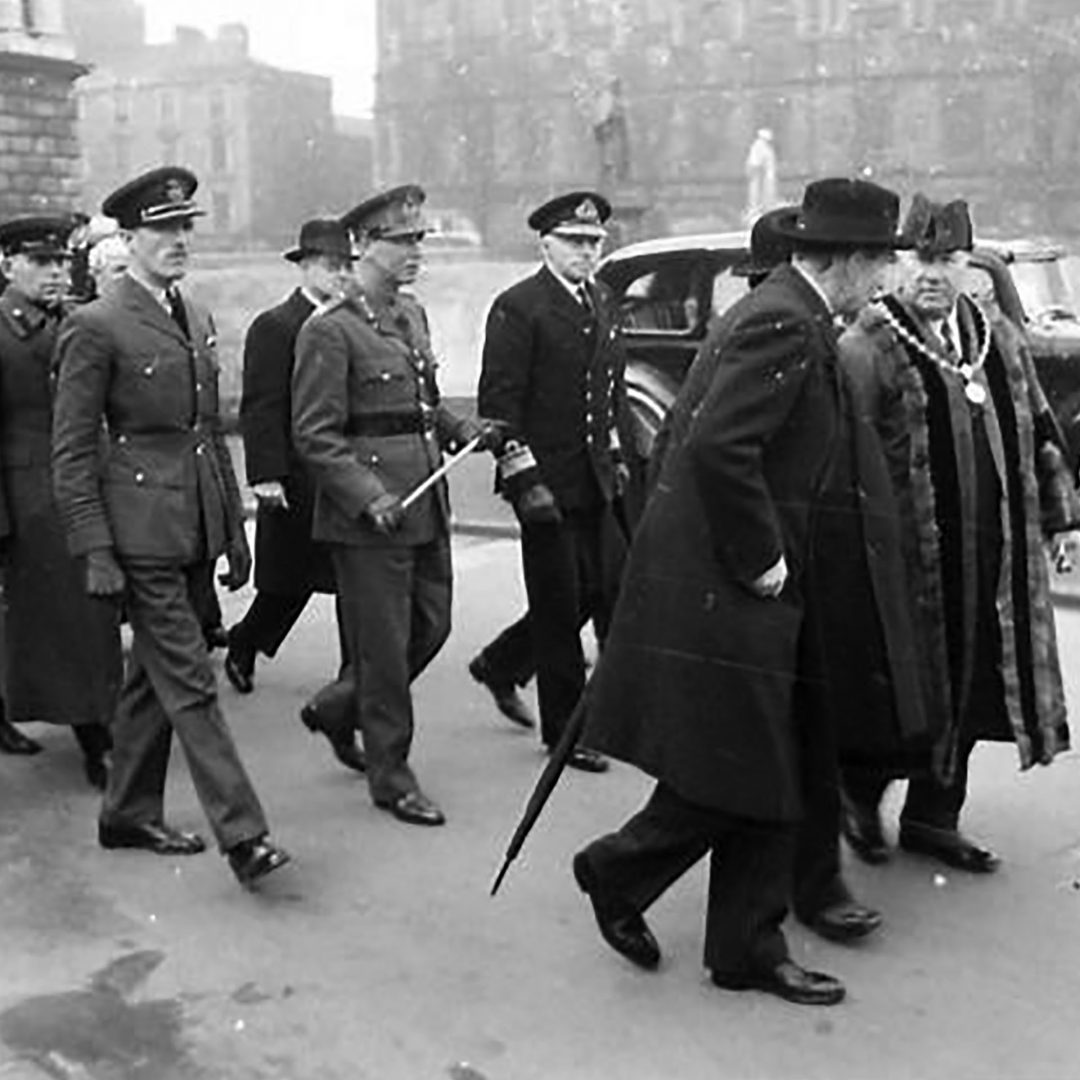Red Army Day in Belfast, 1944