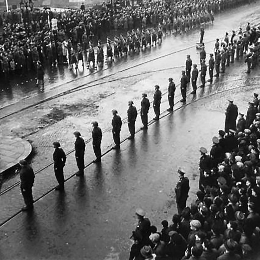 Red Army Day Parade in Northern Ireland