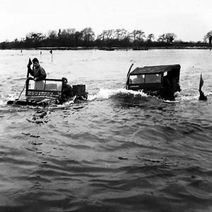 Waterproofed Vehicles Demonstration on Lough Neagh